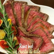 Roast beef in crosta di sale