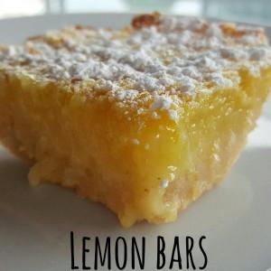 Lemon bars - ricetta americana