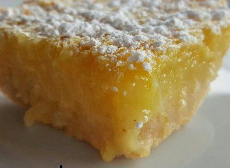 Lemon bars – ricetta americana