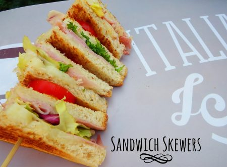 Spiedini di sandwich – Sandwich skewers