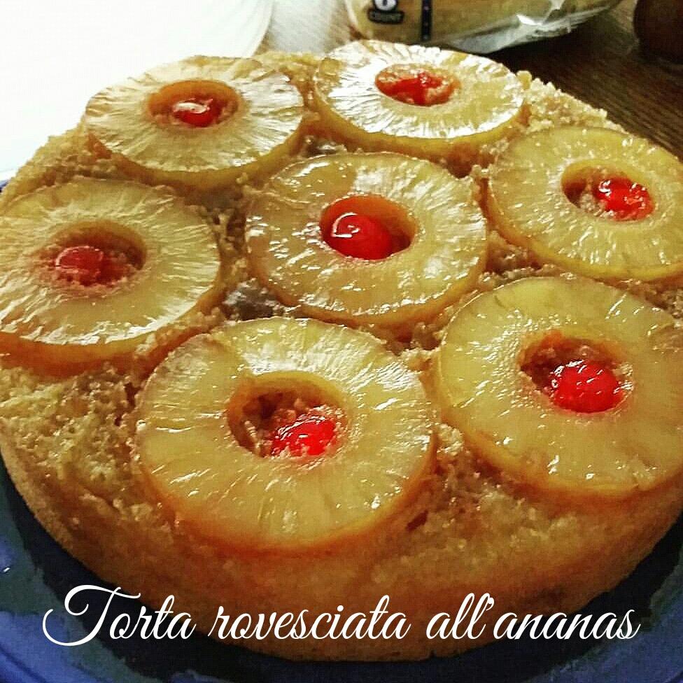 Torta di ananas rovesciata
