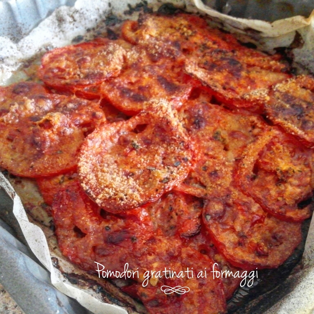 Pomodori gratinati ai formaggi