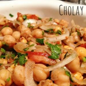 Cholay - stufato di ceci - ricetta indiana
