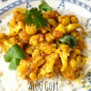 Aloo gobi - patate e cavolfiori - ricetta indiana