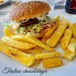 Tirolese cheeseburger