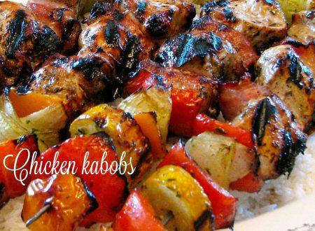 Chicken kabobs – spiedini di pollo hawaiani