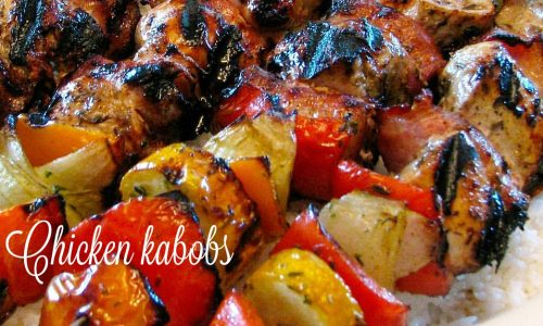 Chicken kabobs – spiedini di pollo hawaiani