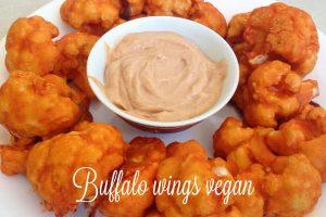 Buffalo wings di cavolfiore – ricetta vegan