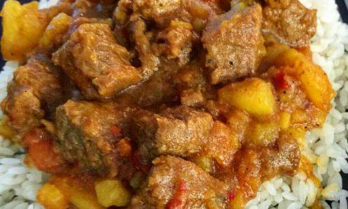 Carne guisada – spezzatino piccante – ricetta tex mex
