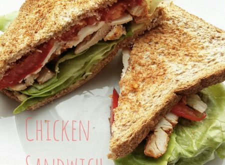 Sandwich di pollo – Chicken sandwich