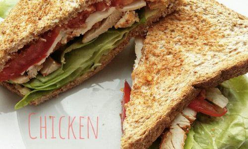 Sandwich di pollo – Chicken sandwich