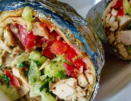Chicken wrap – ricetta panino