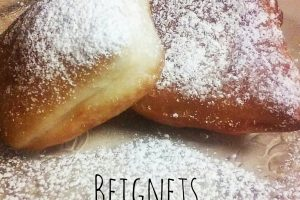 French quarter beignets – frittelle di New Orleans