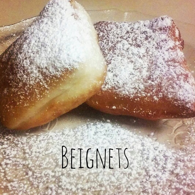 French quarter beignets - frittelle di New Orleans