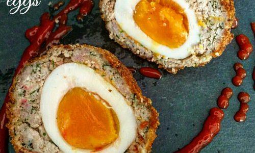Scotch eggs – Polpette di carne ripiene