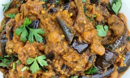 Curry di melanzane – Baingan Bharta