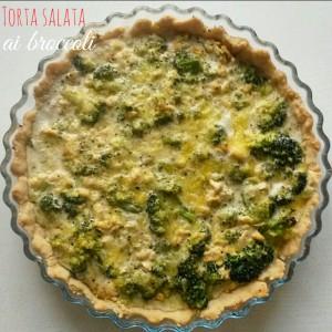 Torta salata ai broccoli e besciamella