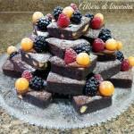 Albero di brownies – ricetta di Natale