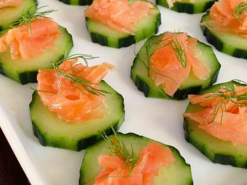 Tartine al salmone – ricetta light e veloce