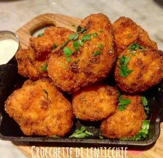 Crocchette di lenticchie - ricetta di recupero