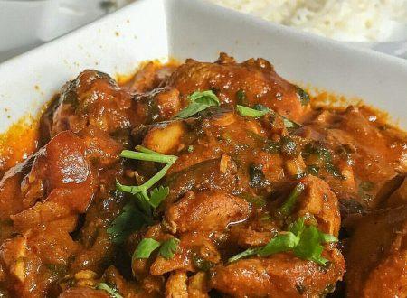 Pollo e patate al curry