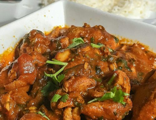 Pollo e patate al curry