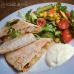 Quesadillas di pollo - ricetta messicana