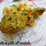 Coscette di pollo all'orientale