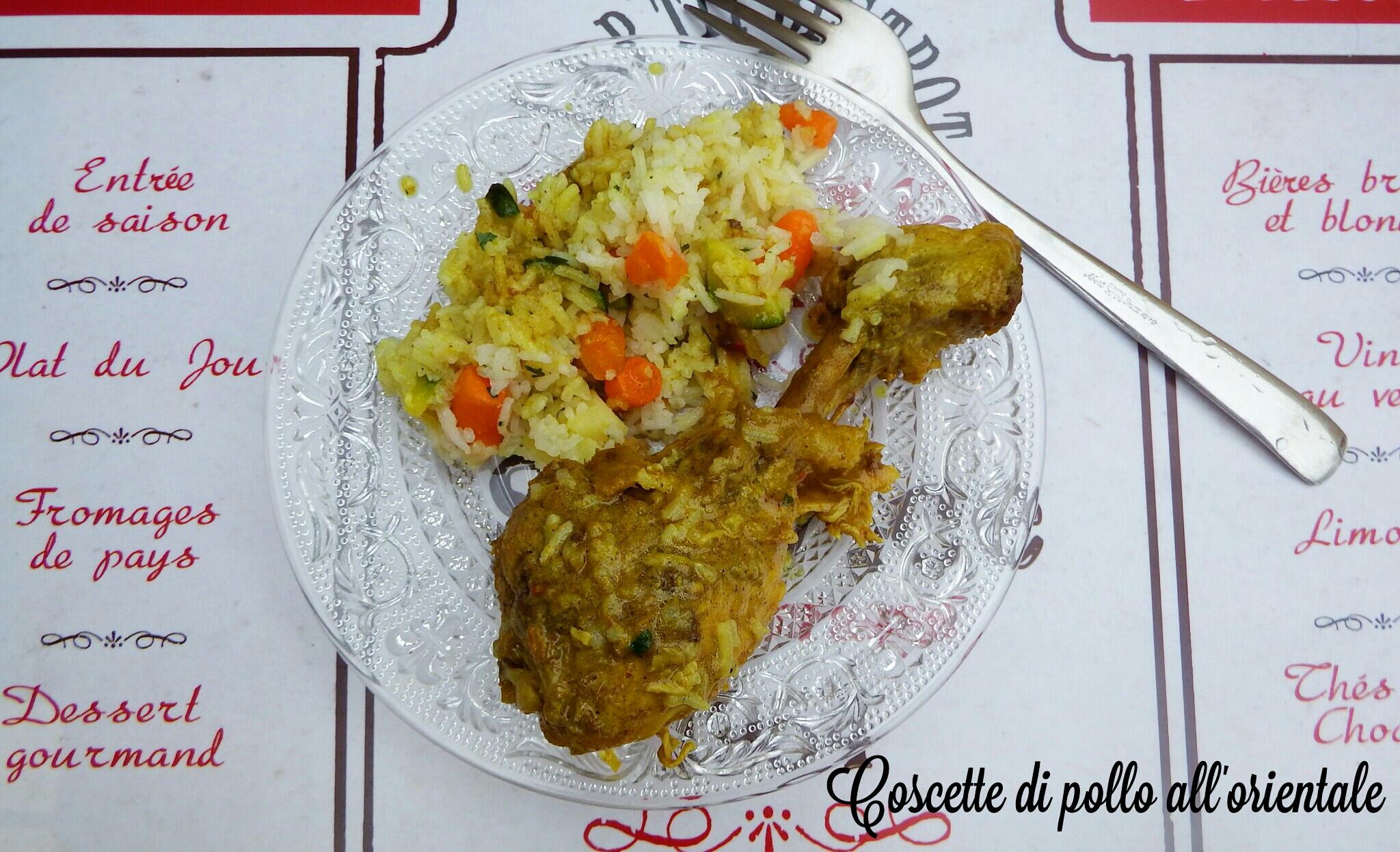 Coscette di pollo all'orientale