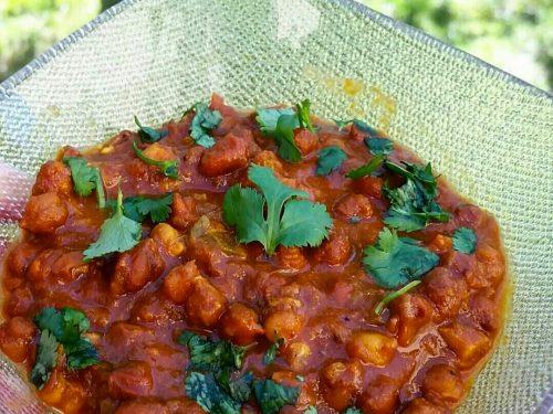 Chana Masala – stufato di ceci – ricetta indiana