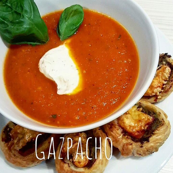 Ricetta gazpacho andaluso - come fare il gazpacho