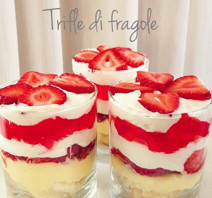 Trifle di Fragole – Ricetta Originale