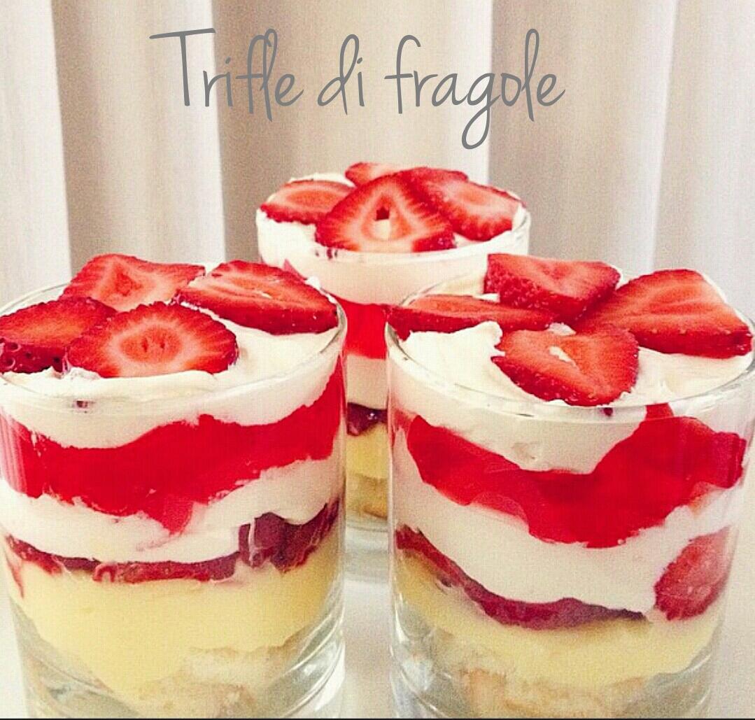 Trifle di fragole - ricetta originale