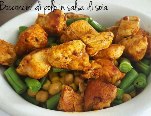 Bocconcini di pollo in salsa di soia – ricetta veloce