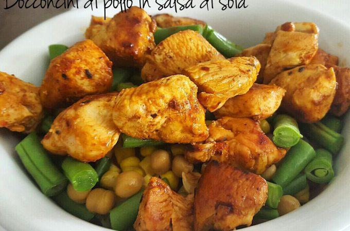 Bocconcini di pollo in salsa di soia - ricetta veloce