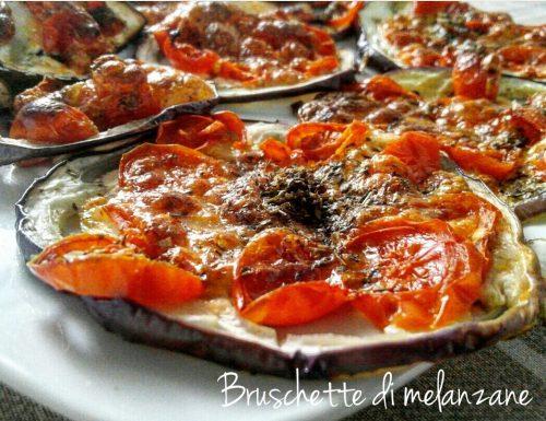 Bruschette di melanzane – ricetta veloce