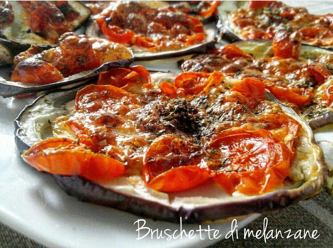 Bruschette di melanzane - ricetta veloce