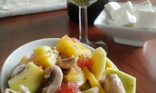 Insalata hawaiana – piatto freddo veloce
