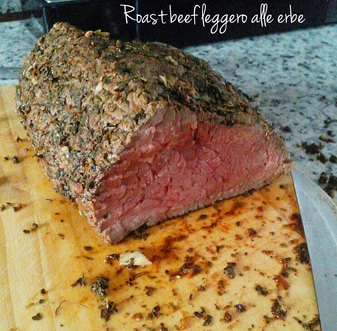 Roast beef leggero alle erbe