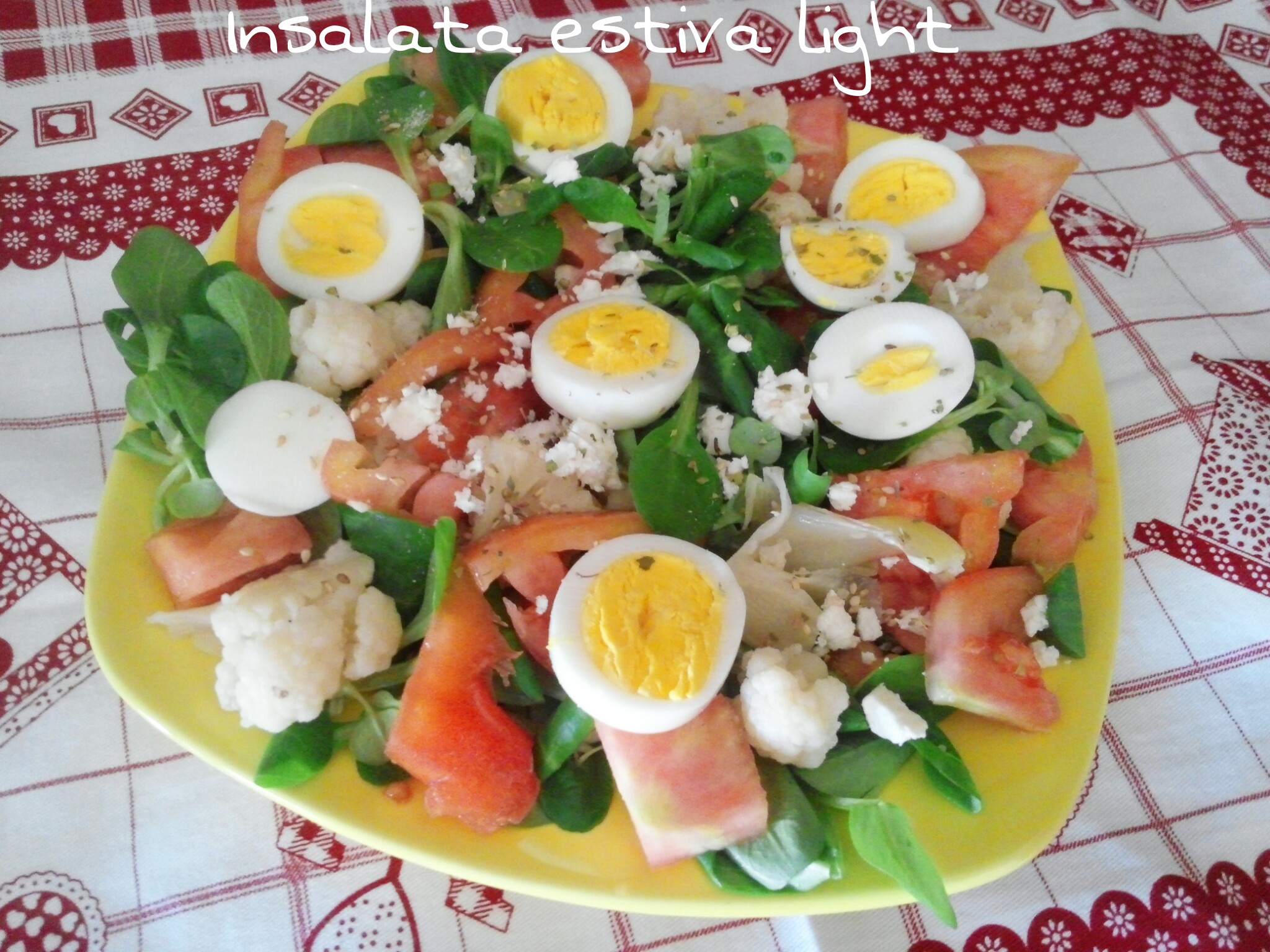 Insalata estiva light