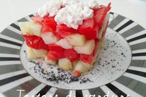 Tartare di verdure – ricetta vegetariana