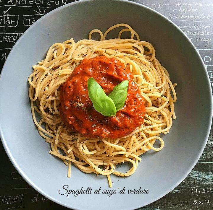 Spaghetti al ragu di verdure