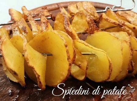 Spiedini di patate – ricetta vegetariana