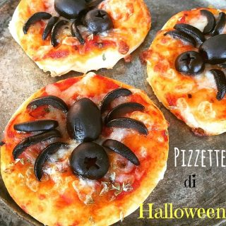Pizzette con ragnetti