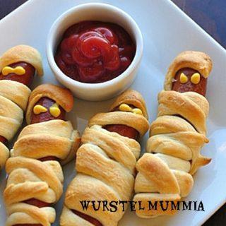 Wurstel mummia - Mummy dogs
