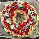 Ghirlanda dolce di Natale – Ricetta centrotavola