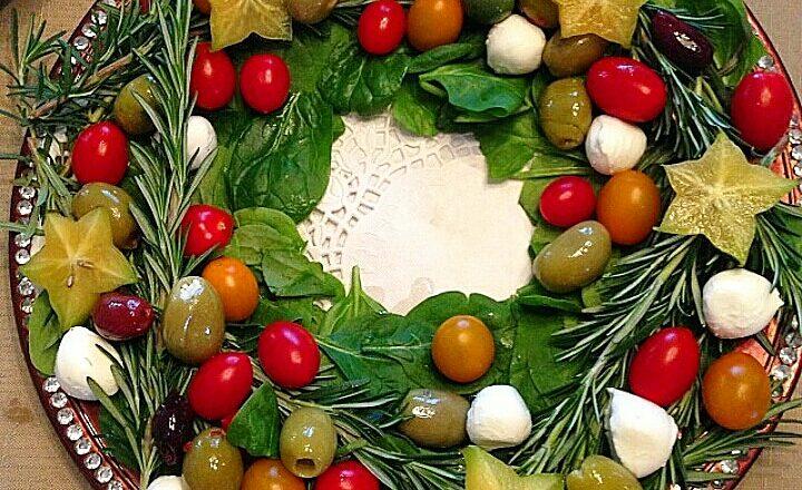 Centrotavola di antipasti – ricetta di Natale