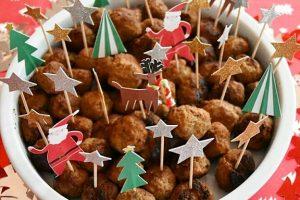 Polpettine di carne speziate – ricetta antipasto di Natale