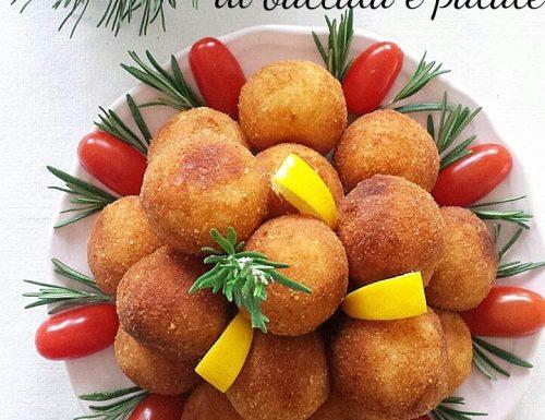 Polpette di baccalà e patate – ricetta delle feste