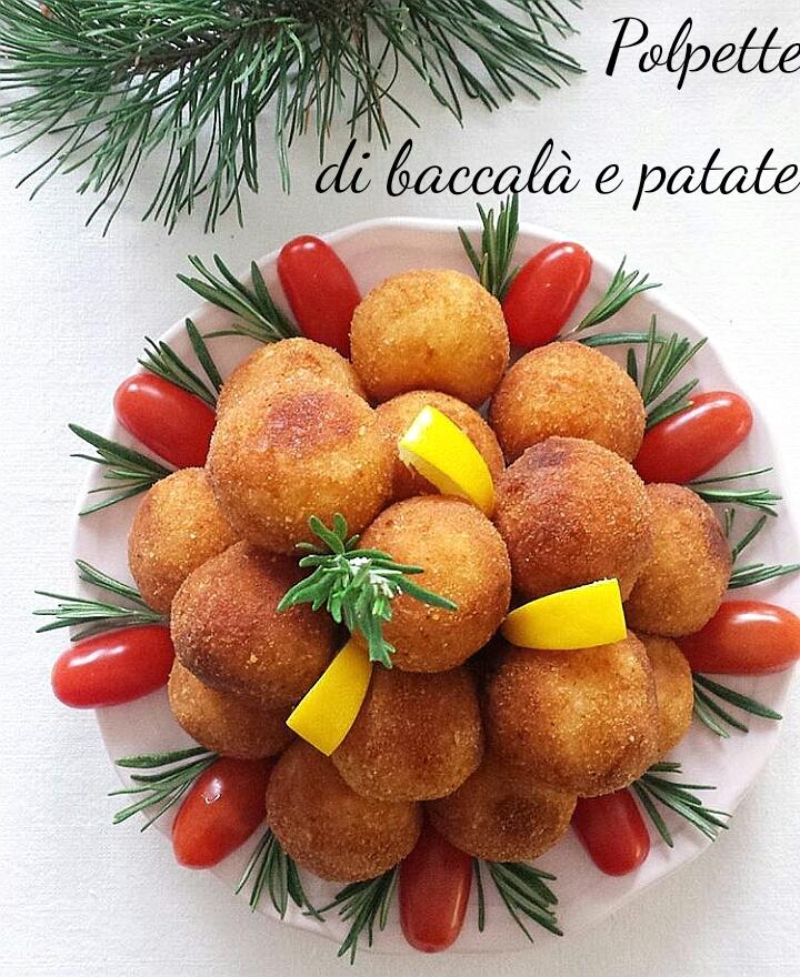 Polpette di baccalà e patate - ricetta delle feste
